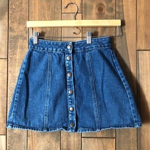 ⚡️FINAL PRICE⚡️ 90s style A line mini skirt